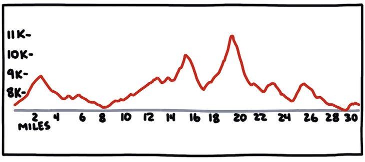 Rut 50k elevation profile