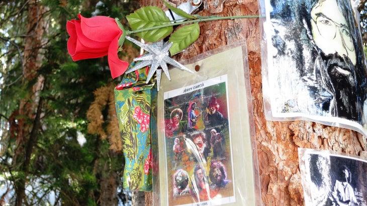 Jerry Garcia shrine in Aspen