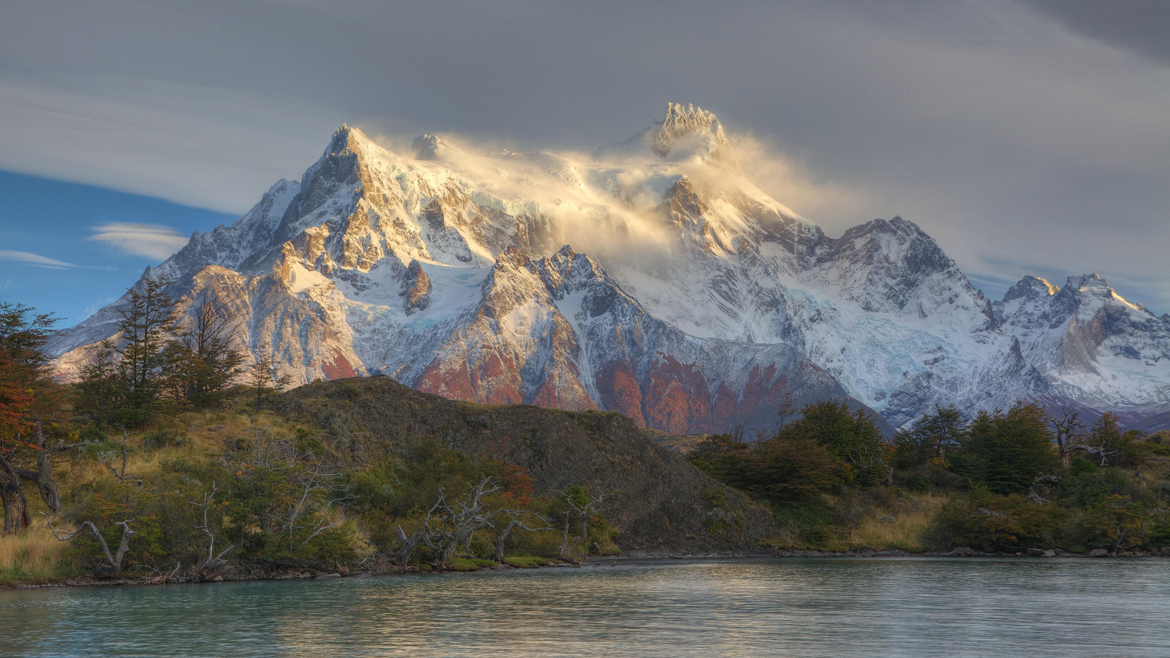 Chilean Patagonia's majestic mountains