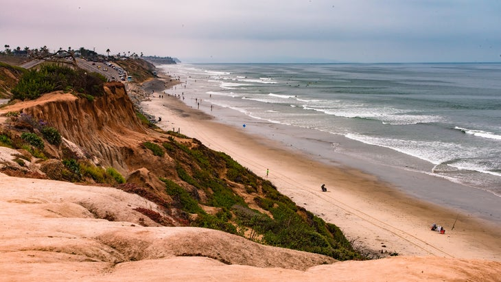 Oceanside, California coastline