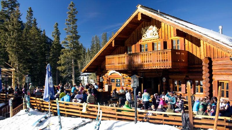 The Bavarian Lodge in Taos.