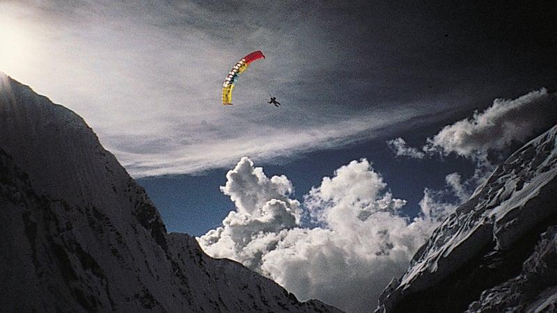 Jean-Marc Boivin rides the rare air.