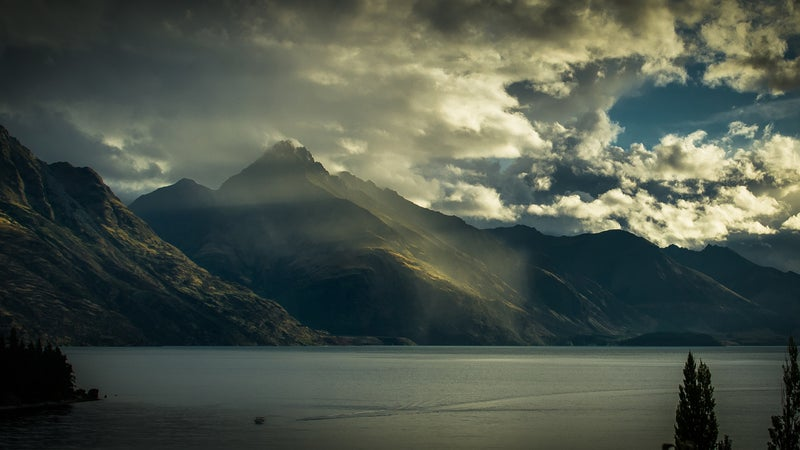 Just some typical New Zealand views.
