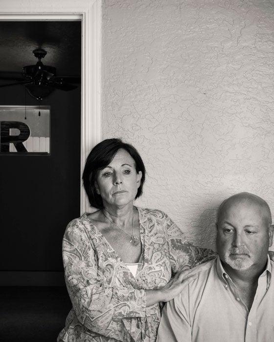 The parents of Robert Caldwell, Linda and David Caldwell
