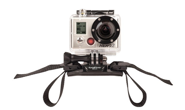 GoProHD Hero2 camcorder.