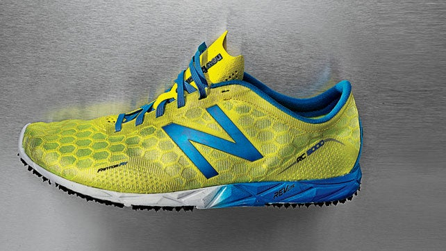 A minimalist running shoe witho