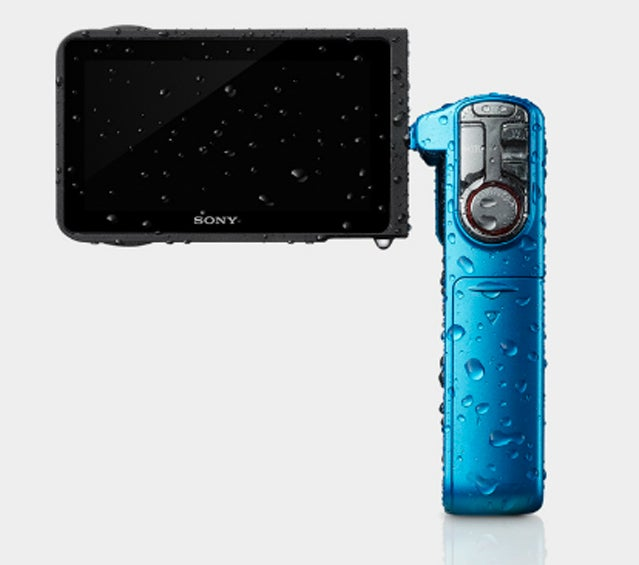 Sony HDR-GW77V camcorder.