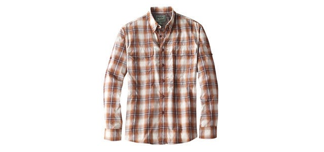 Woolrich Cross Country shirt fly fishing