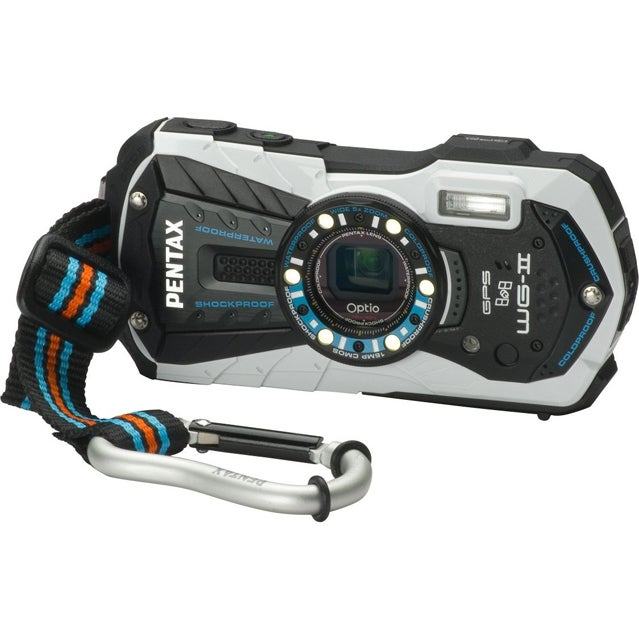 Pentax Optio WG-2 GPS camera.
