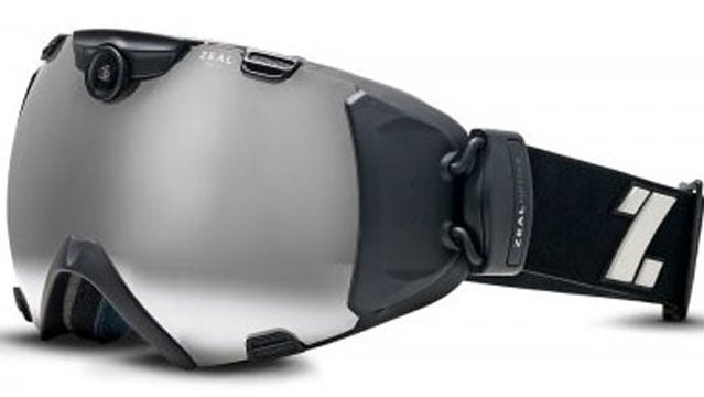 ski goggles camera