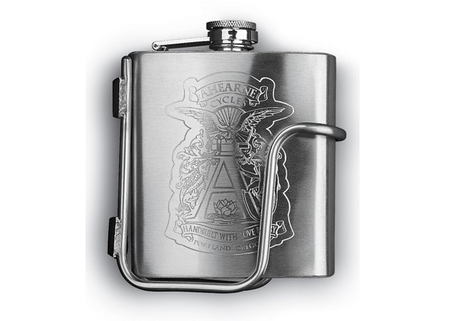 Ahearne Custom Engraved Flask outside holiday gift guide