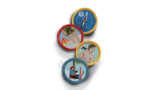 Demerit Wear Badges outside holiday gift guide