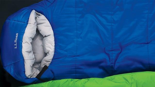 ll bean adventure 25 mountain hardwear ultra lamina big agnes shoestring sl camping sleeping bags camp woods