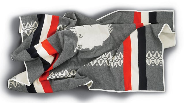Pendleton Heroic Chief Blanket outside holiday gift guide