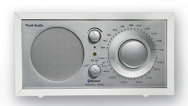 Tivoli Model One Bluetooth AM/F outside holiday gift guide