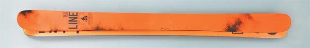 skis line influence orange winter buyers guide 2014