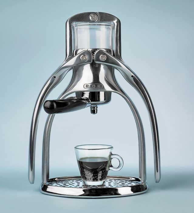 rokkitchentools rok espresso coffee brew