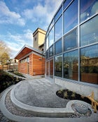 The new science wing at the Bertschi School in Seattle