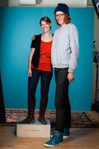 Ali Carr and Brett Dennen