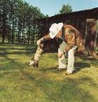 Pssum with Basil: Frank Basil Clark making friends in Clanton, Alabama