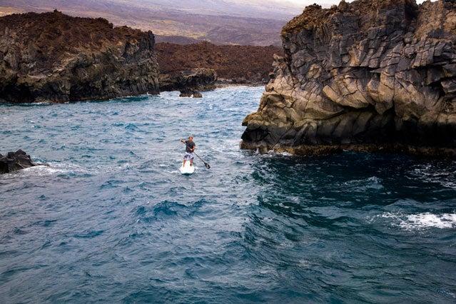 Ride Maui's downwinder on a SUP