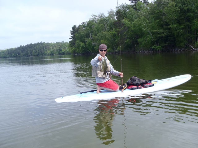 Fish from your SUP in Minnesota