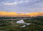 Lazy river day: the Rio Grande winds through Big Bend National Park