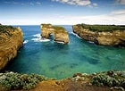 Aussie arch: waves and rock off Port Campbell, Australia