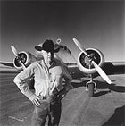 A MAN, A PLAN, A PLANE: Mike Kammerer and his 1935 Lockheed Electra 10-E. the only flying sister-ship of the plane Earhart disappeared in 1937.