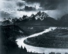 """""""The Tetons and the Snake River"""" (1942) by Ansel Adams"""