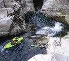 Ben Selznick in Trou Blanc Canyon