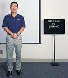 Wheel hoss: Kozo Shimano at the company's California HQ
