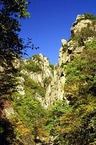 A cragged view of South Korea's Seoraksan National Park