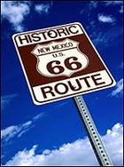 Sign for the times: Route 66, New Mexico