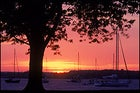 Can you see the light?: sunset on the Chesapeake in Maryland