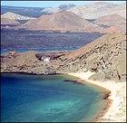 Marine iguanas? Yes. Tourist crowding? No.: Bartolome Island in the Galapagos