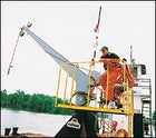 The bike crane: power by Yam