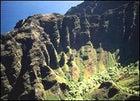 Behind the green door: Waimea Canyon on the island of Kauai