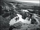 """""""I have lived many lifetimes in this hole"""": Chyngandangaly, a diamond mine outside Saurimo."""