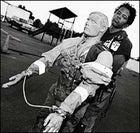 Draper dragging rescue randy at the Colorado Springs training course.