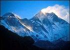 Everest at dawn