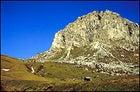 Rocky cliffs of the Italian Dolomites