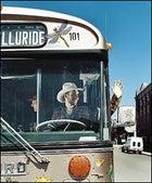 Top Rod: Ford powers Telluride's biodiesel bus down Main Street.
