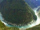 Mount Abu Lashu, Tsangpo River