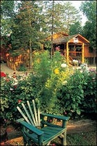 GET IT WHILE YOU CAN: the season's final flare at Ely, Minnesota's Burntside Lodge