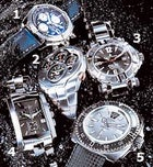 Breitling, Seiko, Chase-Durer, Bulova, Zodiac