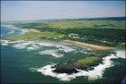 The verdant side of the Wild Coast