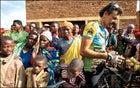 Biking Rwanda