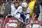 Fabian Cancellara wins the Tour prologue