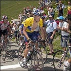 Lance Armstrong won yet another stage today, creating a gap of more than four minutes over his nearest competitors